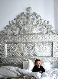 pressed metal furniture. Pressed Metal Bedhead Indian Furniture L