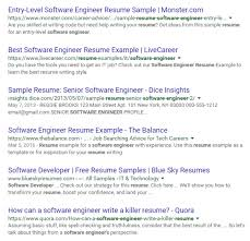 How Do You Get A Resume How To Do A Successful Google Resume Search