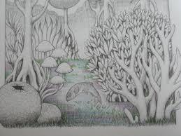 完成クーピーとゲルペンで塗ってみました生き物たちの塗り絵songs
