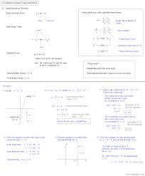 coordinate geometry review notes coordinate geometry review notes 2