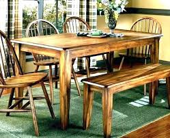 kitchen table with bench and chairs farmhouse kitchen table with bench round dining sets country and chairs fa rustic kitchen table with bench and chairs