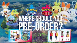 Where is the best place to pre-order Pokémon Sword & Shield?