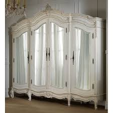 white wood wardrobe armoire shabby chic bedroom. Back To: Reclaimed Antique White Armoire Wood Wardrobe Shabby Chic Bedroom