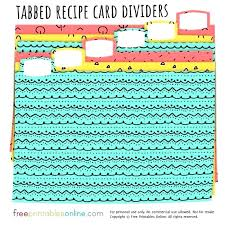 Index Card Recipe Template Index Cards 5 X 7 Foton