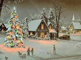 Outdoor Christmas Wallpapers - Top Free ...