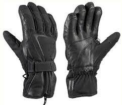 Leki Gloves Size Chart 125 Leki Womens Spirit Goatskin Leather Trigger S Goretex Ski Gloves Ladies Ebay