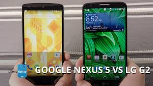 Green Light Nexus 5 Google Nexus 5 Vs Lg G2