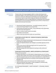 Account Manager Resume Template Sarahepps Com
