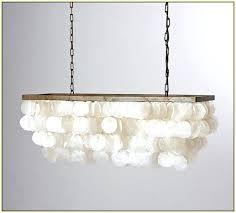 rectangular capiz chandelier shell chandelier rectangular large rectangular capiz shell chandelier