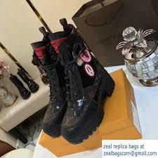 louis vuitton desert boots. louis vuitton heel 5cm platform 3cm world tour desert boots 1a3g56 2017 r