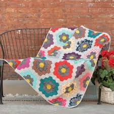 Spring Quilt Patterns | AccuQuilt : AccuQuilt & Urban Flower Garden Quilt Adamdwight.com
