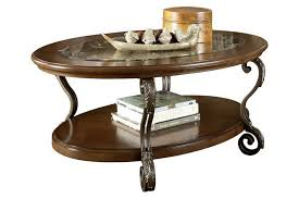 bm210962 wooden oval cocktail table