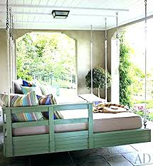 outdoor floating bed round swing bed round hanging bed hanging porch bed twins hanging beds round