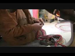 how to install a wiring harness in an old car or truck part 1 how to install a wiring harness in an old car or truck part 1