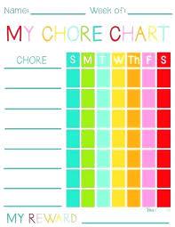 Reward Chart Template Toddler Childrens Behavior Chart Template Toddler Behavior Chart