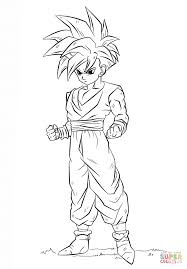 Dragon Ball Super Coloring Printable Coloring Page For Kids