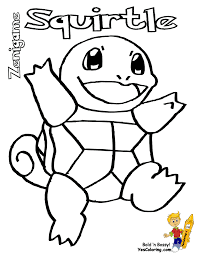 Small Picture pokemon coloring pages squirtle Just Colorings