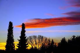Ein Schöner Tag Geht Zu Ende überdenke Noch Einmal Was Er Dir