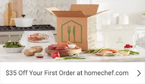 35 off your first order with home chef