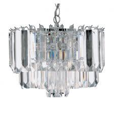 searchlight 8415cc sigma 4 light ceiling pendant polished chrome