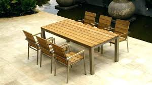 full size of mid century modern outdoor dining table teak set furniture sets architecture home design