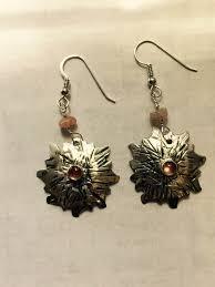 sterling silver earrings sunstone earrings sterling silver and sunstone earrings dangle earrings