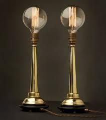 edison lighting fixtures. Edison Light Globes, Part 2: Brassy \u0026amp; Classy Steampunk-Style Lamp Fixtures - Core77 Lighting