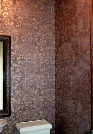 modern masters metallic finish stenciling done with metallic paint project by kelly peterson and