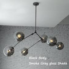 iron ceiling light black wrought
