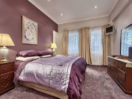 Bedroom Accent Wall Color Purple Accent Wall Bedroom