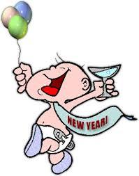 happy new year clipart. Exellent Happy Baby New Year Celebrating The With Happy New Year Clipart L