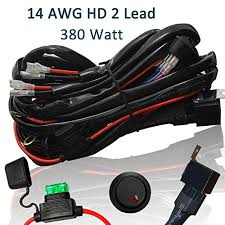 heavy duty wiring harness ampper 14 awg waterproof offroad led heavy duty wiring harness ampper 14 awg waterproof