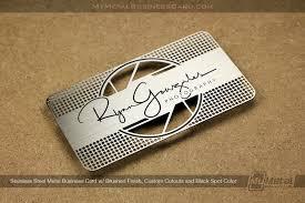 Steel Business Cards Starter Pack World Leader In Metal Business Cards