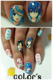 272 best Anime/Cartoon Inspired Nails images on Pinterest | Anime ...