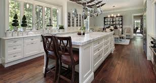 Wooden Floors In Kitchen Hardwood Flooring Kitchen Shining Home Design
