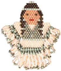 Free Beading Patterns Beauteous Seed Bead Pattern Free Bead Patterns Indian Maiden Earrings