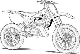 Just print out and color it or color online with the interactive coloring machine. Yamaha Dirt Bike Coloring Pages Coloring4free Coloring4free Com