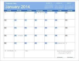 Excel Calendar Template 2013 Microsoft Excel Calendar Templates Excel Calendar Template 2014