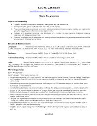 Cover Letter Programmer Resume Programmer Resume Tips Programmer