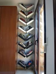 wall rack with 19 diy extra storage organizing ideas 13smart shelves wall shoe