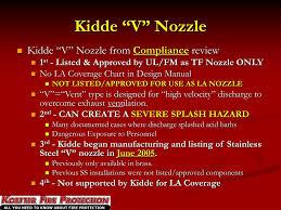 Ansul Nozzle Chart Ppt Semiconductor Equipment Fire Suppression Compliance