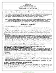 Facilities Manager Resume Sample Fresh It Manager Resume Sample Pdf Operations Manager Resume Sample 21