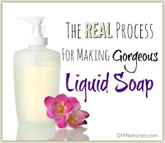 How To Make Liquid Soap That is Natural and Amazing