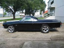 1970 to 1972 Chevrolet El Camino SS for Sale on ClassicCars.com