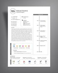 Template Free Simple Professional Resume Cv Template Design Ai