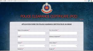Online Police Clearance Certificate Crime In Delhi