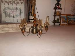 popular natural wood chandelier