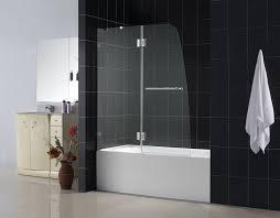bath authority dreamline aqua lux clear glass tub door free modern bathroom