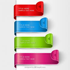 Free Bookmark Templates Colorful Bookmark Templates Vector Free Download