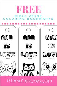 Dltk's bible activities for kids printable bible activities. Free Printable God Is Love Coloring Bookmarks For Kids Bookmarks Kids Coloring Bookmarks Free Printable Bookmarks